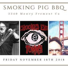 Crooked Eye Tommy Live at Smoking Pig BBQ Fremont