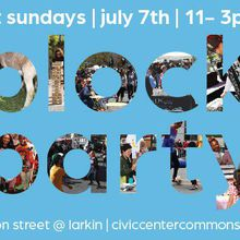 Civic Center Commons 1st Sundays Block Party