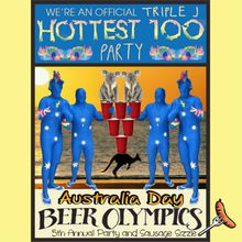 SF AUSTRALIA DAY Beer Olympics Party & SAUSAGE SIZZLE! Triple J's Hottest 100, $3 Beer/Goon, Aussie Games!