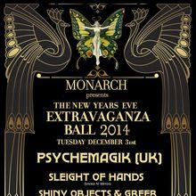 The NYE Extravaganza Ball 2014 feat Psychemagik (UK)