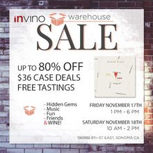 invino Warehouse Sale