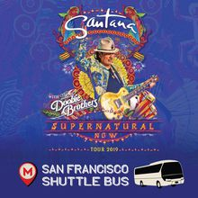 Santana Shuttle Bus to Shoreline Amphitheater