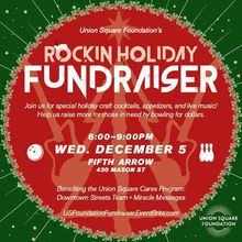 Union Square Foundation's Rockin' Holiday Fundraiser