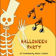 Halloween Spook-tacular at Community Music Center
