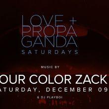 L+P Saturdays w/ Four Color Zack