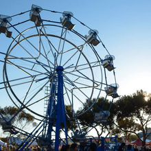 Facebook County Fair - amusement rides, farm animals, live bands, carnival games & more