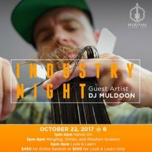 Industry Night featuring guest artist Dj Muldoon