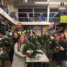 Christmas Wreath Workshop: Russian Hill