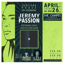 Jeremy Passion - Album Release Show