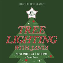 Alameda South Shore Center's Holiday Tree Lighting with Santa