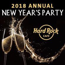 Hard Rock Cafe's Midnight Masquerade NYE 2019