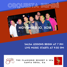 Orquesta Bembé at The Flamingo