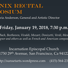 Concert of Aria and Songs - Phoenix Performance Symposium