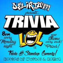 TriviaLOL every Monday Night