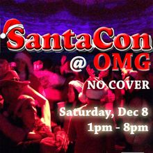 Santacon Central at OMG: Official Dance Party: No Cover