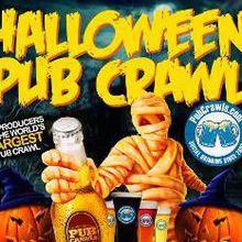 San Francisco Halloween Pub Crawl - Mon 10/31