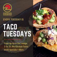 Taco Tuesdays at Ozumo