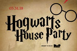 Hogwarts House Party (Harry...
