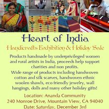 Indian Handicraft Exhition & Holiday Sale