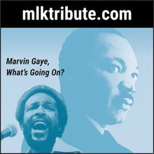 """In The Name of Love, the 15th Annual Musical Tribute Honoring Dr. Martin Luther King, Jr. """"Marvin Gaye, What's Going On?"""""""