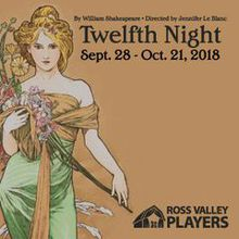 Twelfth Night presented by Ross Valley Players