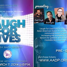 AADP 7th Annual Laugh for Lives Comedy Benefit 2014