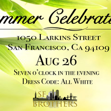 SF Brothers Summer Celebration