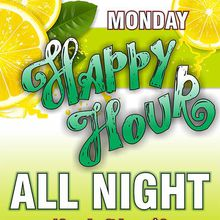 Happy Hour Specials All Night at Raven Bar