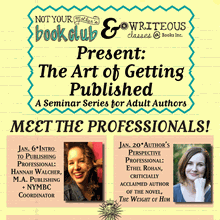 The Art of Getting Published at Books Inc. Opera Plaza