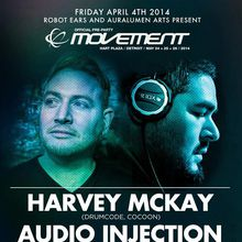 ***OFFICIAL*** Movement Pre-Party: Harvey McKay (Drumcode, Cocoon // Glasgow) & Audio Injection (Droid, Blank Code, CLR // LA)