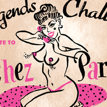 Bay Area Burlesque ~ A Tribute To The Chez Paree ~ Three Showings!