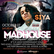 MADHOUSE SF: Halloween Women's Party