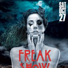 The Freak Show - Clift Hotel's 8th Annual Halloween Extravaganza