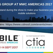 CDN Solutions Group at MWC Americas 2017 San Francisco