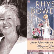 RHYS BOWEN at Books Inc. Palo Alto