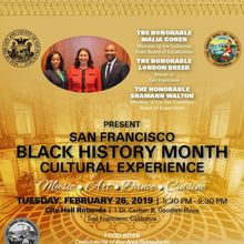 San Francisco Black History Month Cultural Experience 2019