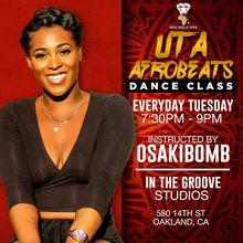 UTA Afrobeats Dance Class