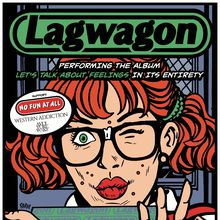 Lagwagon @ GAMH  w/ No Fun At All, Western Addiction, A Vulture Wake