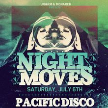 Night Moves: Pacific Disco live