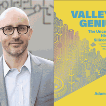 ADAM FISHER with ASHLEE VANCE at Books Inc. Mountain View