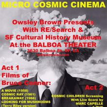 Micro Cosmic Cinema