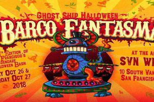 Ghost Ship Halloween: Barco...