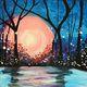 Painting and Vino: 'Midsummers Night'