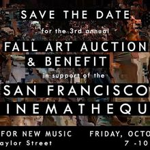 3rd Annual Fall Art Auction & Benefit in support of San Francisco Cinematheque
