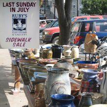 Annual Sidewalk Sale!