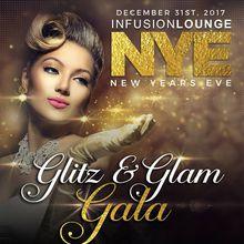 Infusion Lounge NYE Glitz & Glam Gala