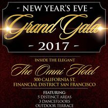 San Francisco NYE Grand Gala 2017 - Omni Hotel