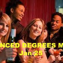 Advanced Degrees Singles Party