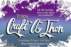 Craft-a-thon: 17 Workshops ...