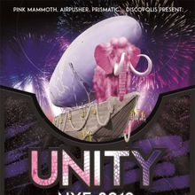 Unity: NYE 2019 with DJ T., John Tejada, Pink Mammoth, Airpusher, Prismatic, Discopolis